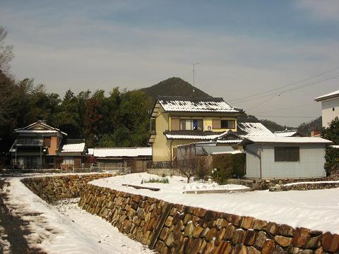 唐沢川と御嵩富士