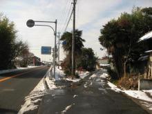 旧中山道・新木野付近