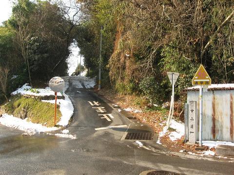 旧中山道・高倉付近