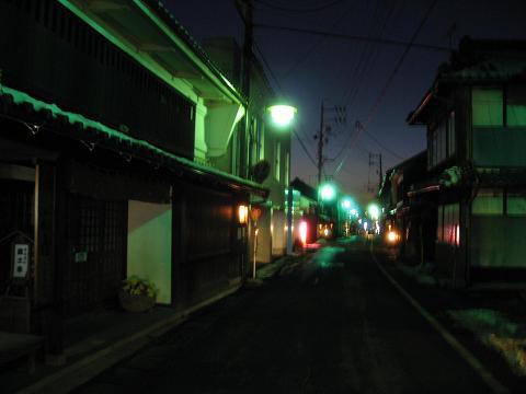 太田宿夜景