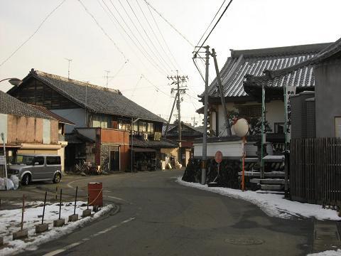 太田宿・東の枡形