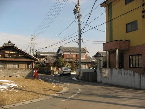 太田宿・西の枡形