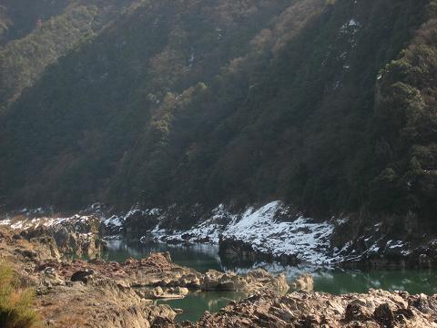 日本ライン・木曽川の流れ