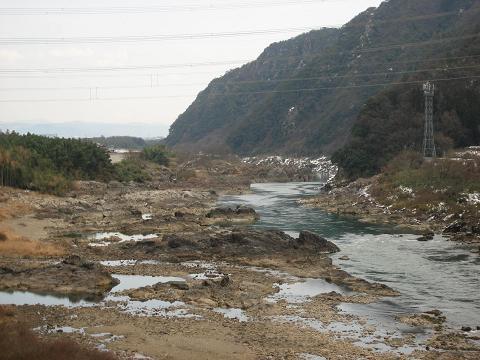 木曽川・岩屋坂からの眺望