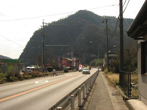 国道21号・うとう峠登り口付近