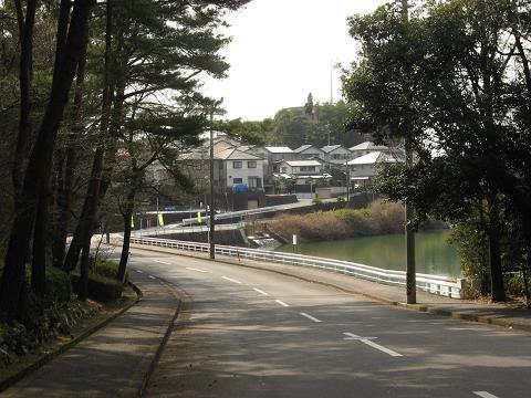旧中山道・合戸池付近