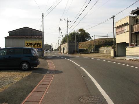 旧中山道・鵜沼西町付近