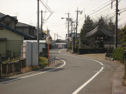 旧中山道・空安寺付近