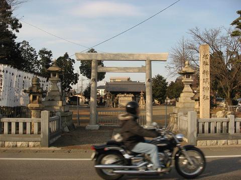 六軒の神明神社