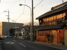 旧中山道・高田橋付近