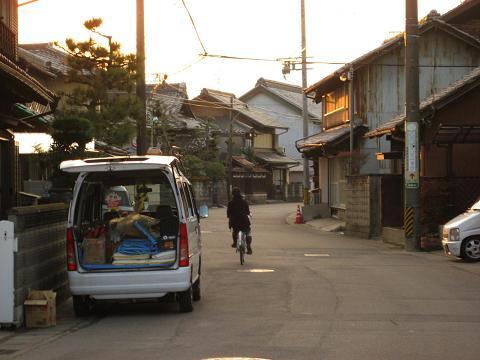 旧中山道・蔵前付近