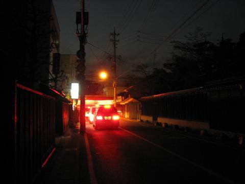 旧中山道・茶所駅付近