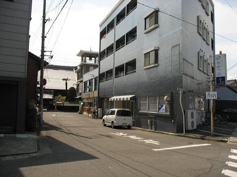 加納宿・善徳寺付近