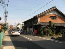 旧中山道・本荘町付近