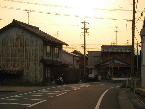 旧中山道・生津付近