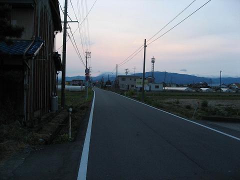 旧中山道・美江寺五六町付近
