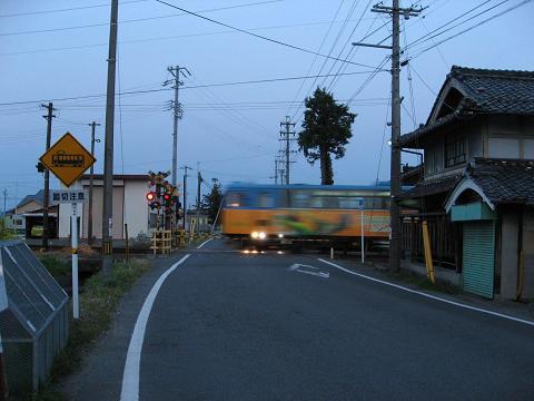 樽見鉄道樽見線と旧中山道