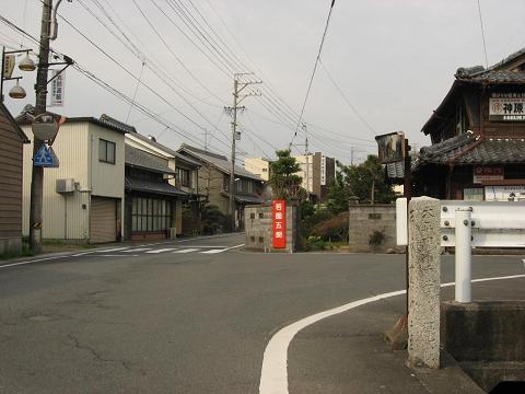 美江寺の道標
