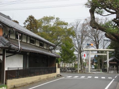 美江寺宿・仲町