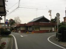 墨俣道の分岐点