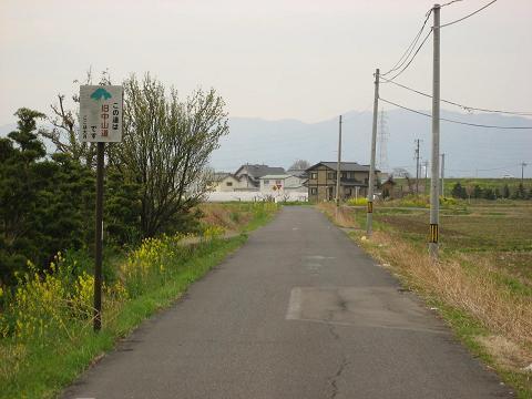 旧中山道・大月付近
