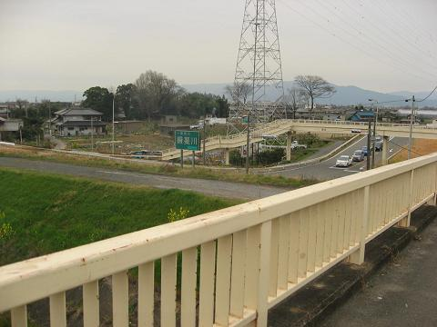 呂久の歩道橋