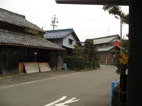 旧中山道・小簾紅園付近
