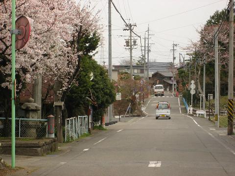 旧中山道・神戸町付近