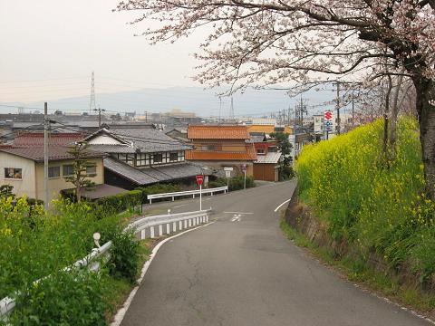 旧中山道・坂下町付近