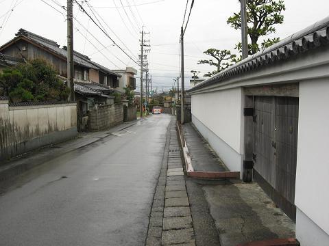 旧中山道・昼飯町