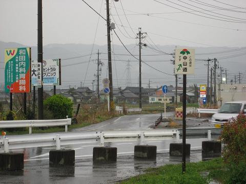 旧中山道・青野町