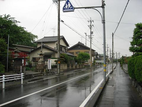旧中山道・垂井宿付近