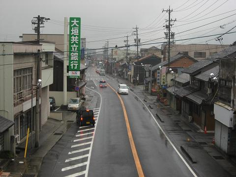 関ヶ原宿・中町.