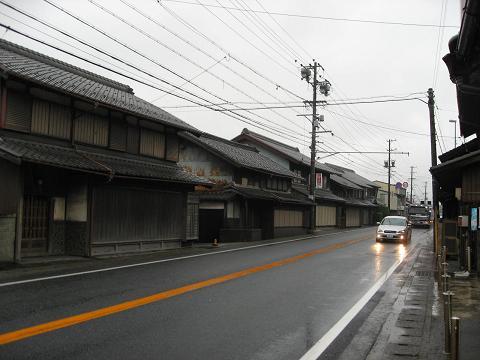 関ヶ原宿・西町
