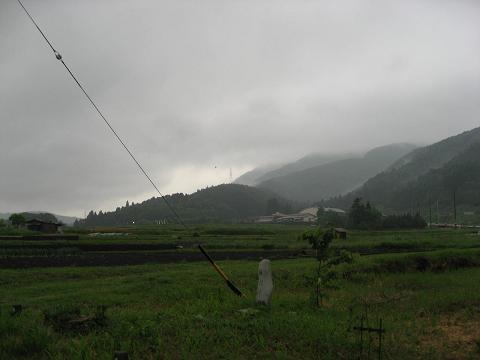 関ヶ原・笹尾山を望む