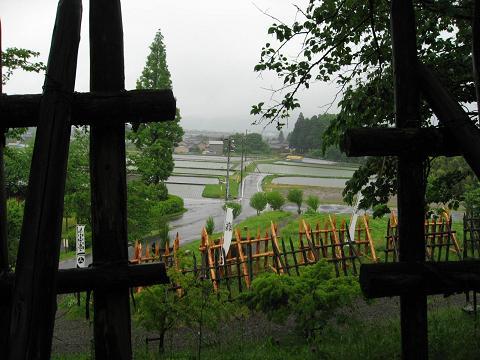 笹尾山・島左近陣跡