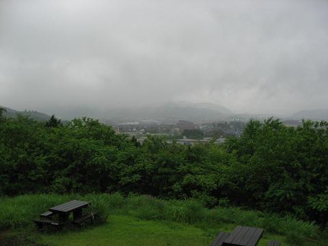 笹尾山から関ヶ原を望む