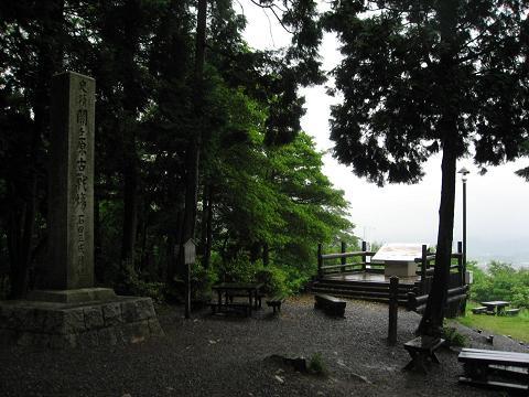 笹尾山・石田三成陣跡