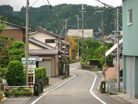 今須宿・東の入口付近