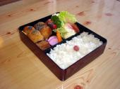 ひれかつ定食弁当1200円