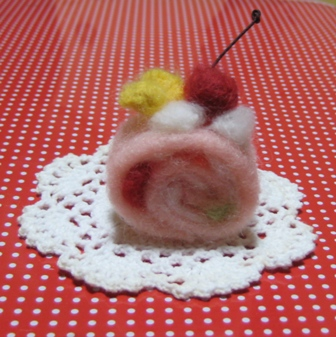 羊毛ロールケーキ
