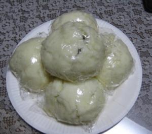 稲おpばちゃんの七夕まんじゅう