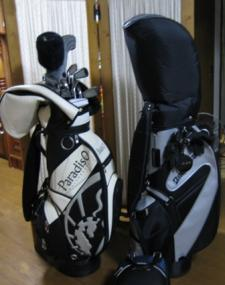 二人でゴルフ