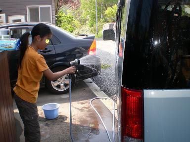 洗車 008
