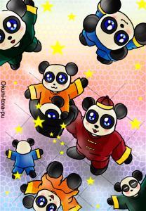 パンダさん~山盛り~