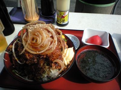 マグロカツ丼1
