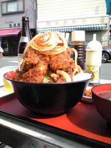 マグロカツ丼2