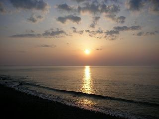 阿佐海岸の日の出