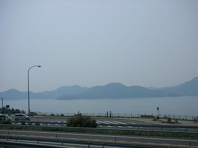瀬戸田PAからの景色1