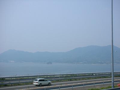 瀬戸田PAからの景色2